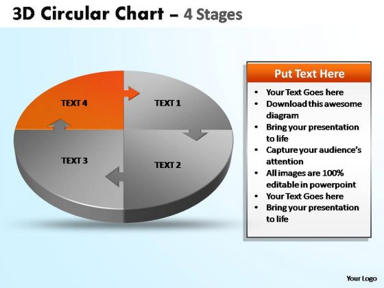 PowerPoint Template Graphic Circular Ppt Template
