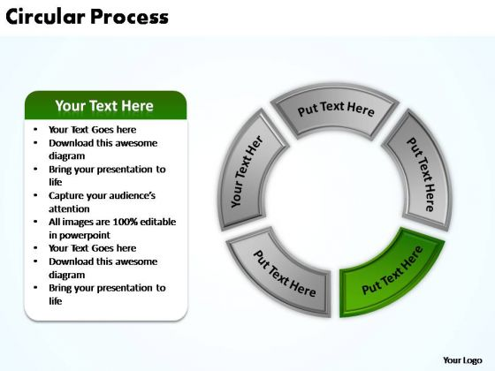 PowerPoint Template Graphic Circular Process Ppt Designs