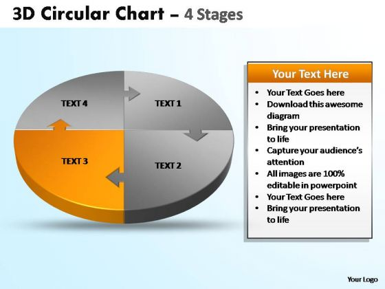 PowerPoint Template Growth Circular Ppt Design