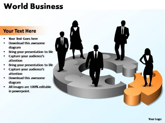 PowerPoint Template Growth World Business Ppt Slides