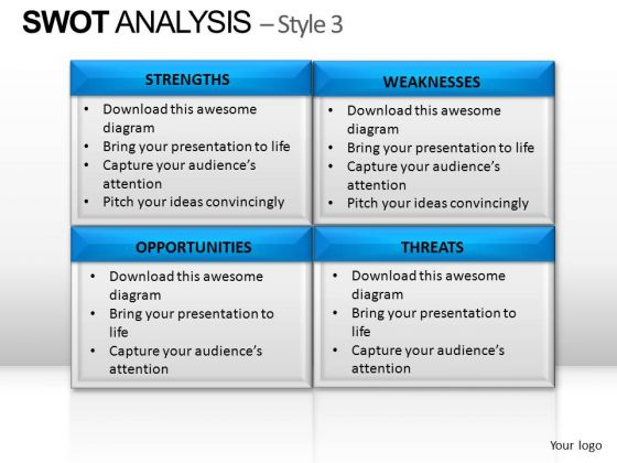 PowerPoint Template Image Swot Analysis Ppt Slide Designs