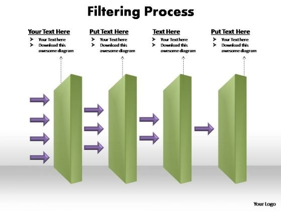 PowerPoint Template Leadership Filtering Process Ppt Slide Designs