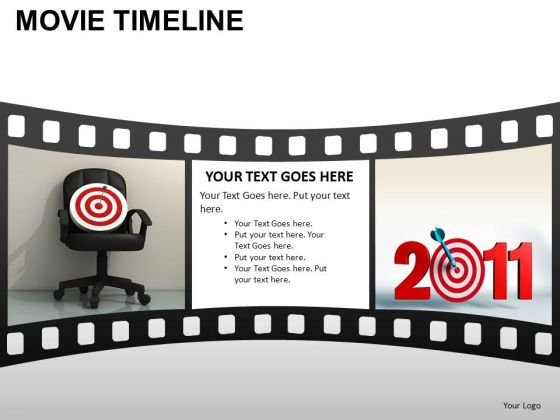 PowerPoint Template Leadership Movie Timeline Ppt Layouts