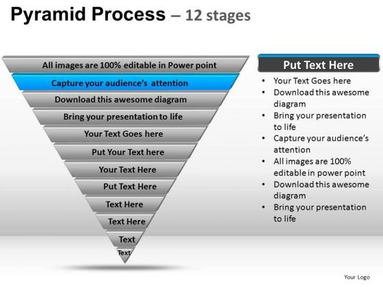 PowerPoint Template Leadership Pyramid Ppt Template