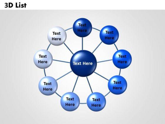PowerPoint Template List Leadership Ppt Design