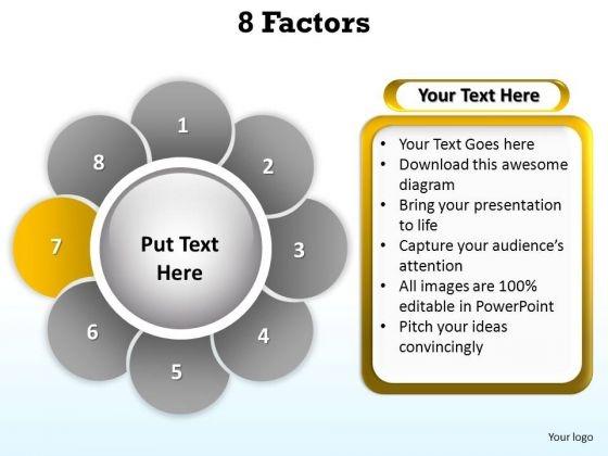 PowerPoint Template Marketing Factors Ppt Templates