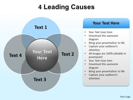 PowerPoint Template Marketing Leading Causes Ppt Design