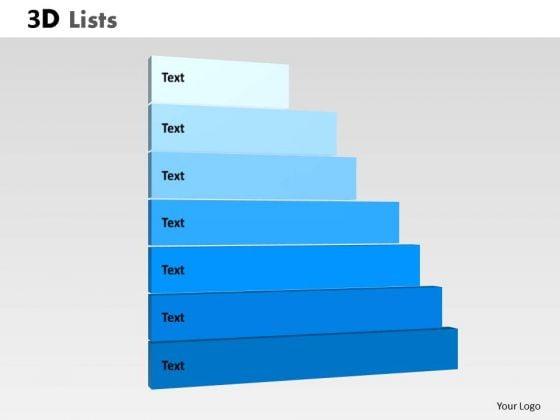 PowerPoint Template Marketing List Ppt Process