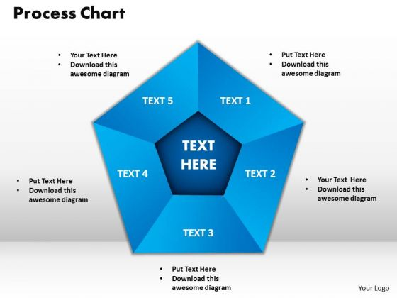 PowerPoint Template Process Chart Leadership Ppt Backgrounds