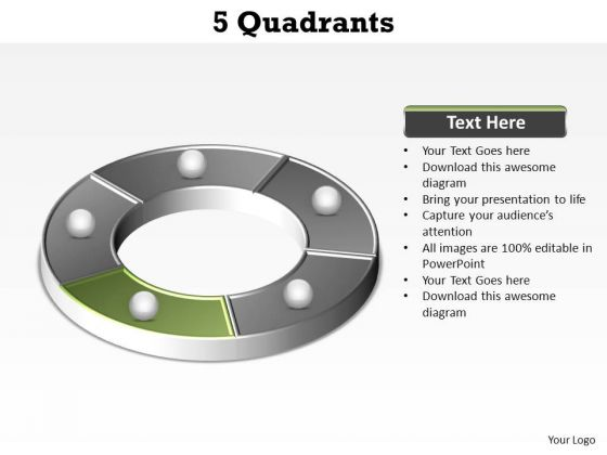 PowerPoint Template Process Quadrants Ppt Template