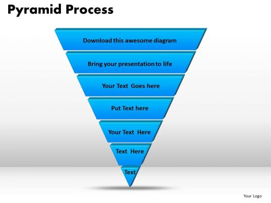 PowerPoint Template Pyramid Process Business Ppt Themes
