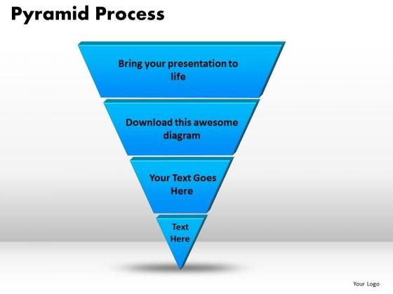 powerpoint template pyramid process success ppt slide powerpoint