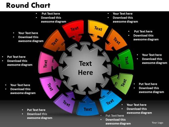 PowerPoint Template Round Chart Finance Ppt Slide Designs