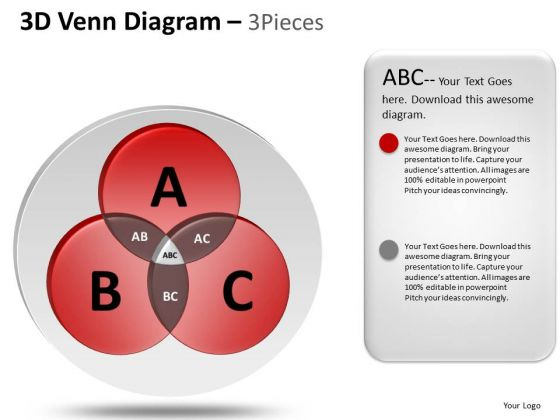 PowerPoint Template Strategy Venn Diagram Ppt Presentation
