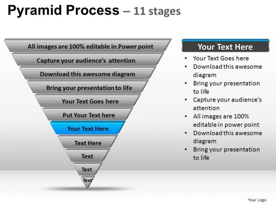 Powerpoint Template Success Pyramid Ppt Backgrounds  Powerpoint
