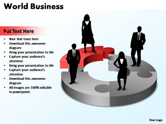 PowerPoint Template Success World Business Ppt Slides
