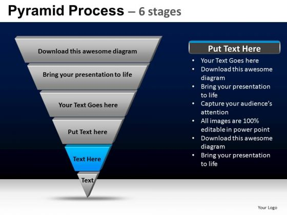 PowerPoint Template Teamwork Pyramid Process Ppt Backgrounds