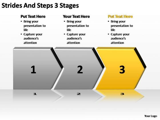 PowerPoint Template Teamwork Strides And Steps Ppt Presentation