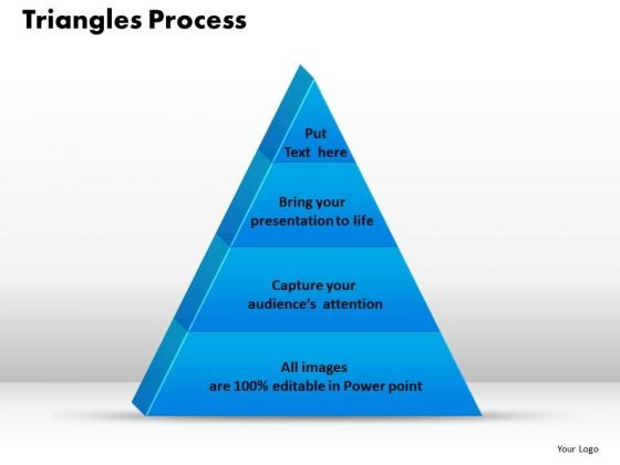 PowerPoint Template Triangle Process Diagram Ppt Presentation