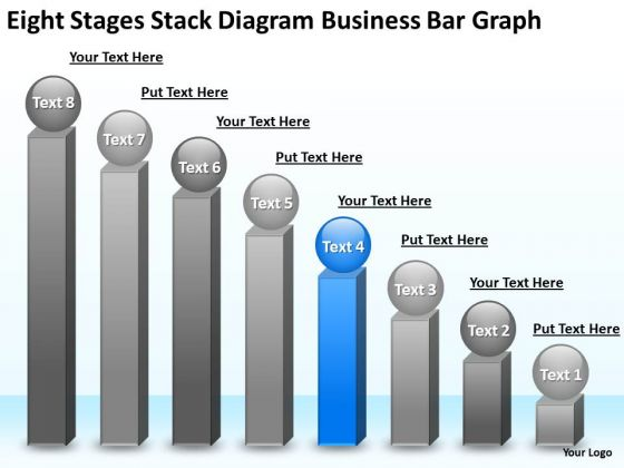 PowerPoint Templates Bar Graph Examples Of Business Plan