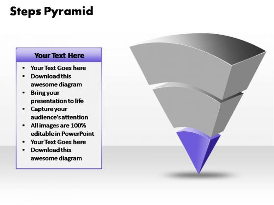 PowerPoint Templates Business 3 Steps Pyramid Ppt Backgrounds