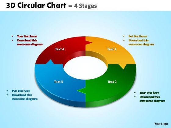 PowerPoint Templates Business Circular Chart Ppt Themes