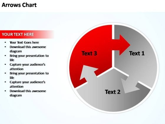 PowerPoint Templates Business Circular Plan With Arrows Chart Ppt Slides