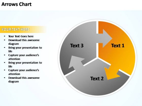 PowerPoint Templates Business Circular Plan With Arrows Chart Ppt Theme