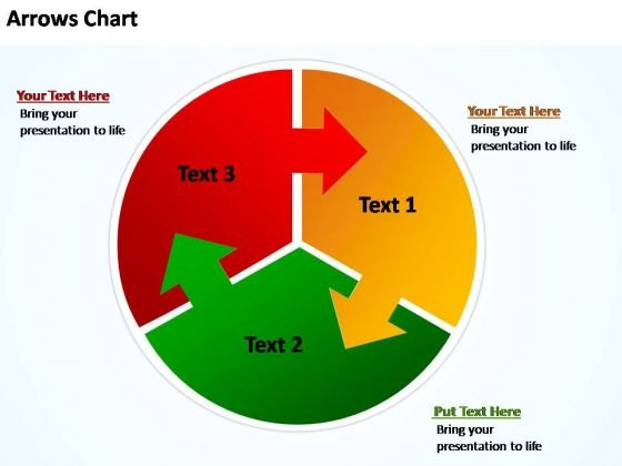 PowerPoint Templates Business Circular Plan With Arrows Chart Ppt Themes