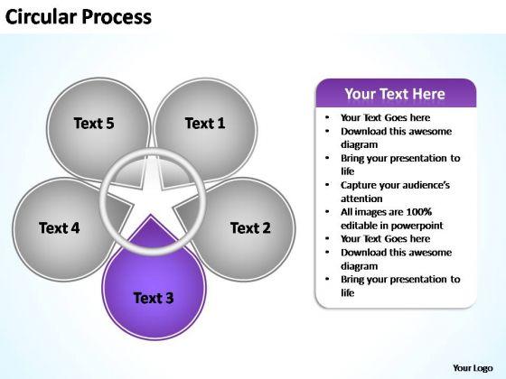 PowerPoint Templates Business Circular Process Flow Ppt Design