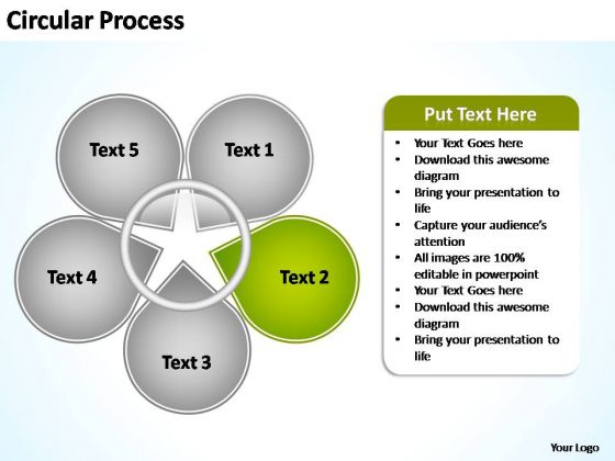 PowerPoint Templates Business Circular Process Flow Ppt Designs