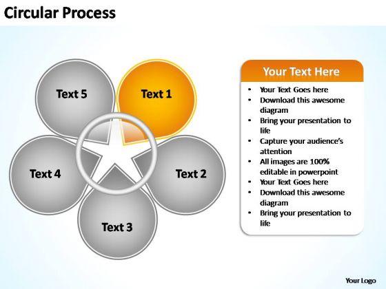 PowerPoint Templates Business Circular Process Flow Ppt Theme