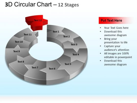 PowerPoint Templates Business Circular Process Ppt Slides