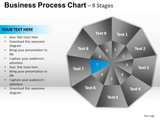 PowerPoint Templates Business Circular Quadrant Ppt Slides