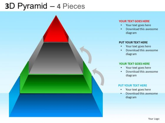 PowerPoint Templates Business Competition Pyramid Ppt Themes
