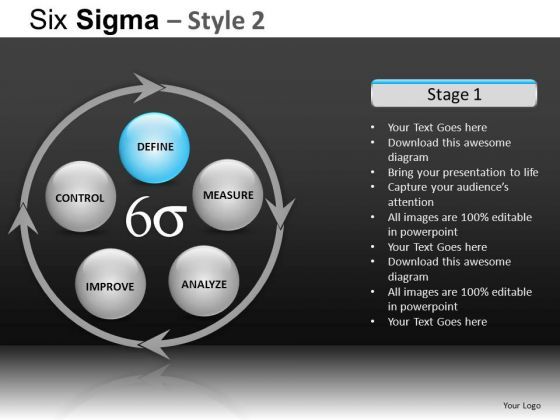 PowerPoint Templates Business Competition Six Sigma Ppt Designs