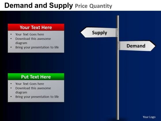 PowerPoint Templates Business Demand And Supply Ppt Slide