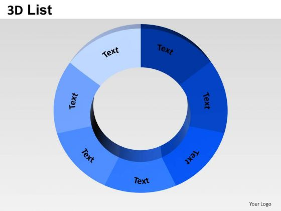 PowerPoint Templates Business Donut Pie Chart Ppt Layouts