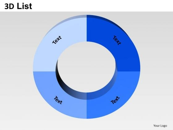PowerPoint Templates Business Donut Pie Chart Ppt Themes