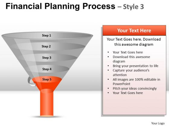 PowerPoint Templates Business Education Financial Planning Process Ppt Theme