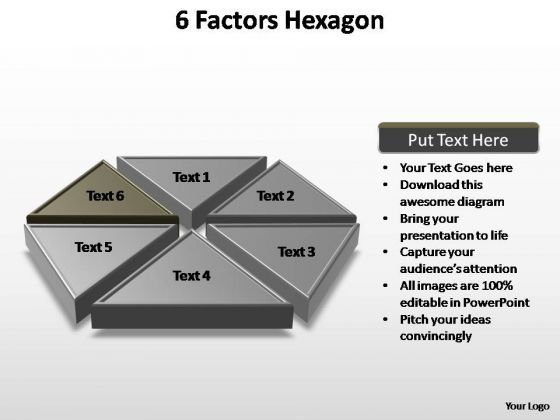 PowerPoint Templates Business Factors Hexagon Ppt Themes