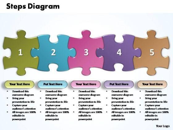 powerpoint_templates_business_five_improvement_steps_puzzle_ppt_slides_1