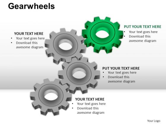 PowerPoint Templates Business Gear Wheel Ppt Themes