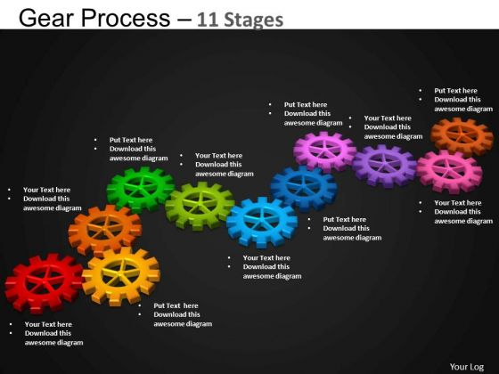 PowerPoint Templates Business Gears Process Ppt Slides