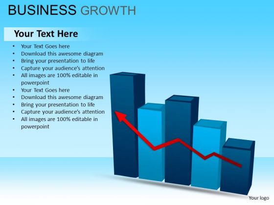 PowerPoint Templates Business Leadership Business Growth Ppt Designs