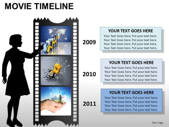 PowerPoint Templates Business Movie Timeline Ppt Designs