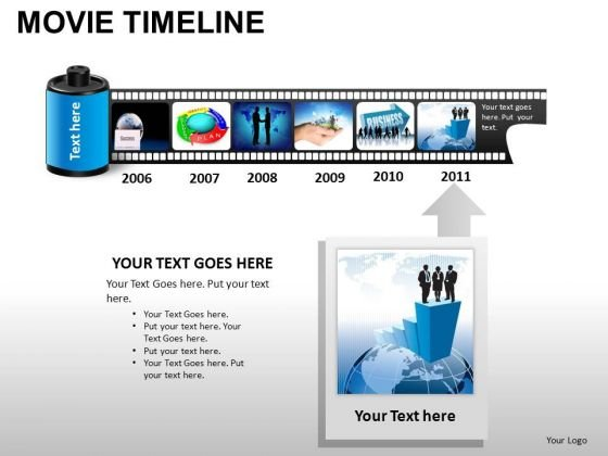 PowerPoint Templates Business Movie Timeline Ppt Layouts