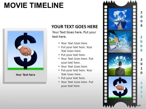 PowerPoint Templates Business Movie Timeline Ppt Presentation
