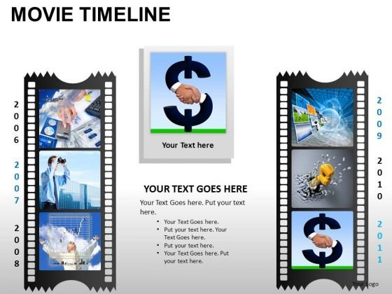 PowerPoint Templates Business Movie Timeline Ppt Process