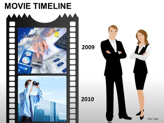 PowerPoint Templates Business Movie Timeline Ppt Themes